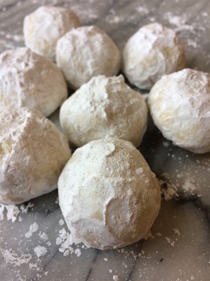 nut free snowball cookies