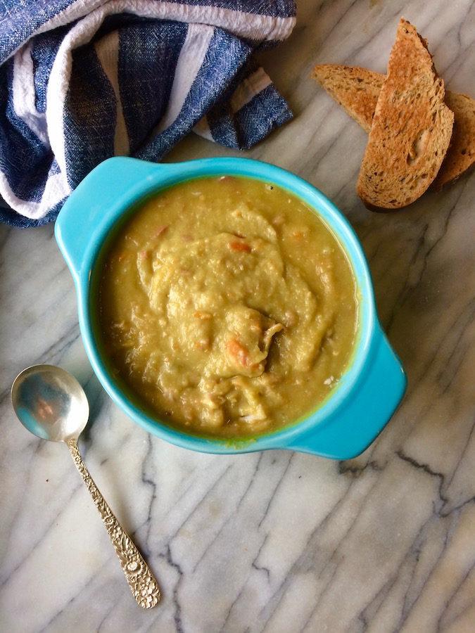 Instant Pot Split Pea Soup | flavorpalooza.com
