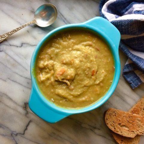 Hearty Instant Pot Split Pea Soup