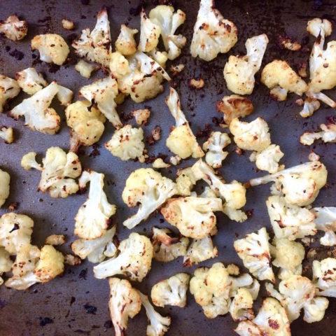 Pan-Roasted Cauliflower Florets