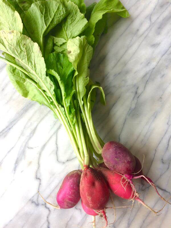 Don't overlook the greens! This is a delicious and nutrient-packed recipe for a sweet turnip and radish greens sauté. A tasty way to eat your greens! #radishgreens #turnipgreens #allergyfriendly #healthy #superfoods | flavorpalooza.com