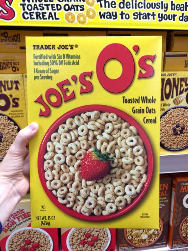 Trader Joe's Joe's O's are delicious, kid friendly and peanut free! They're an excellent breakfast or snack option at home or on the go. #peanutfreesnacks #vegan #allergyfriendly | flavorpalooza.com