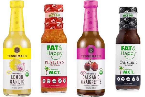 Four of the best, keto-friendly vinaigrette salad dressings.