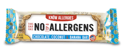 A Know Allergies nut free granola bar.