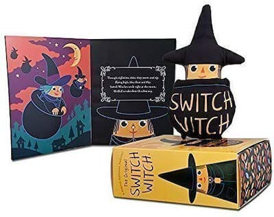 A Switch Witch doll and book.