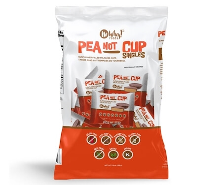 """Package of Pea """"Not"""" Butter Cups"""